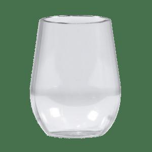 18oz Custom Stemless Wine Glass - USBev Plastics