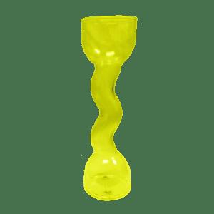 24oz Curvy Yard in Yellow - USBev Plastics