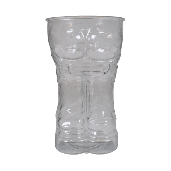 24oz Butt Cup in Clear - USBev Plastics