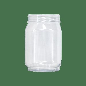 24oz Mason Jar in Clear - USBev Plastics