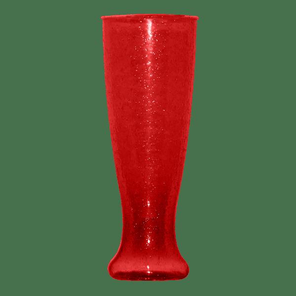 24oz Pilsner Sparkling Bubbles in Red - USBev Plastics