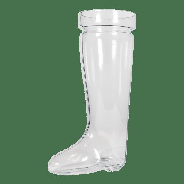 30oz German Boot in Clear - USBev Plastics