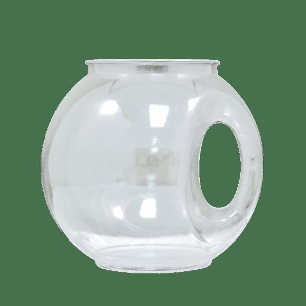 40oz Fishbowl Handled Clear Custom Cup - USBev Plastics