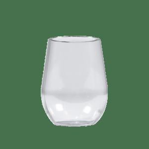 8oz Custom Stemless Wine Glass - USBev Plastics